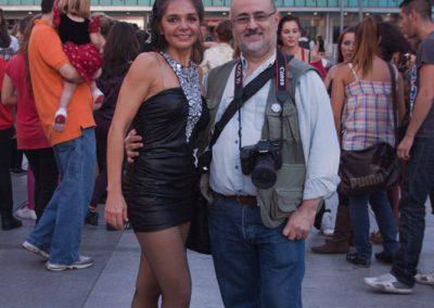 Con Mónica Navas en una InvasiónDanza - Foto: Viviana de Donato