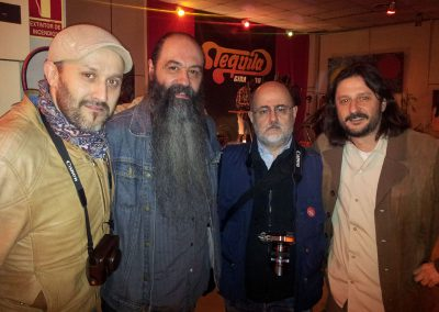Javier Mosquera, Antonio Graell y Juan Carlos Arévalo