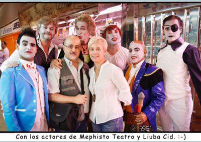 Mephisto Teatro y Liuba Cid