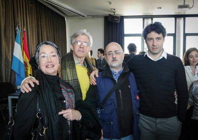 Con Marta García, Orlando Salgado e Iñaki Urlezaga