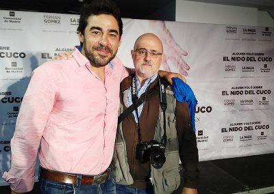 Con Pablo Chiapella