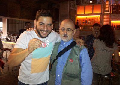 Con Fran Perea
