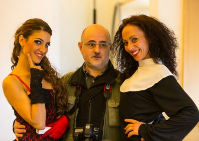 Con Laura Royo y Soumaya El Jaouhari