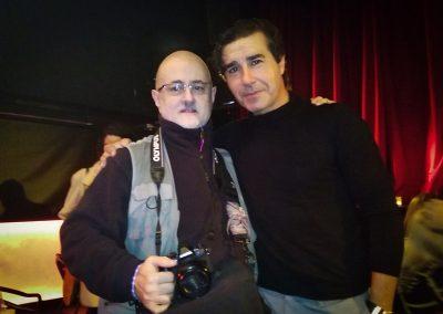 Con Antonio Marquez