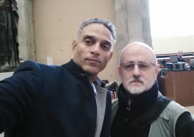 Con Joel Toledo