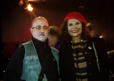 Con la Maestra Merche Esperalda