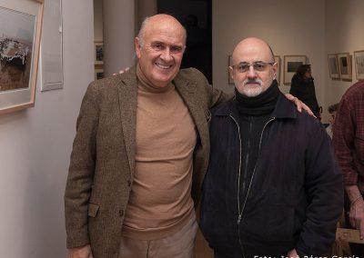 Con el fotógrafo Iñaki Marcaida