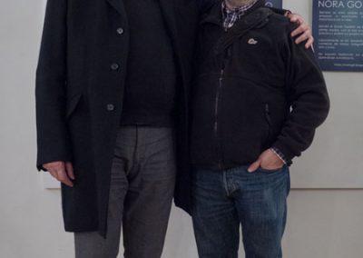 Con Simón en la inauguración de Tanzziel Aranjuez