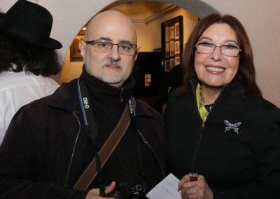Con Blanca del Rey - Foto: Paco Manzano