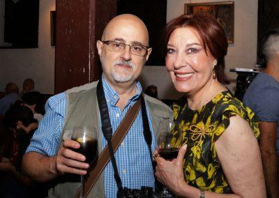 Con Blanca del Rey Foto: Paco Manzano